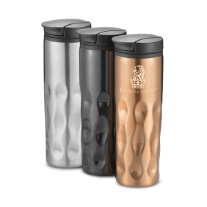 16 oz Stainless Groovy Tumbler