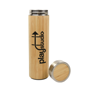 Bamboo Insulated Bottle